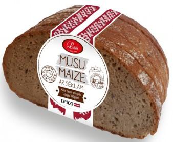 Mūsu rudzu maize ar sēklām
