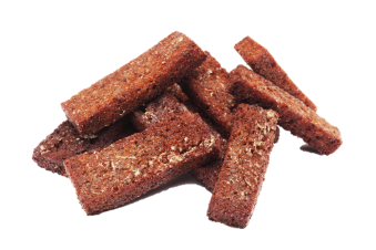 Rupjmaizes grauzdiņi ar ķiplokiem