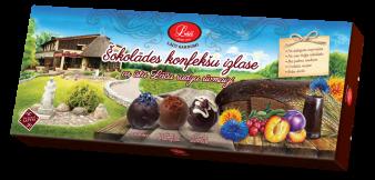 Šokolādes konfekšu izlase ar īstu Lāču rudzu rīvmaizi