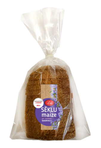 Sēklu maize ar cigoriņu šķiedrvielu