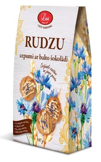 Rudzu cepumi ar balto šokolādi