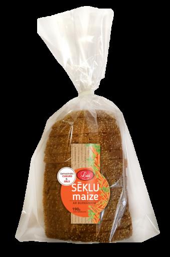 Sēklu maize ar burkāniem