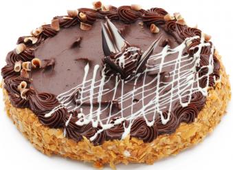 Torte ''Nakts ūdensroze''